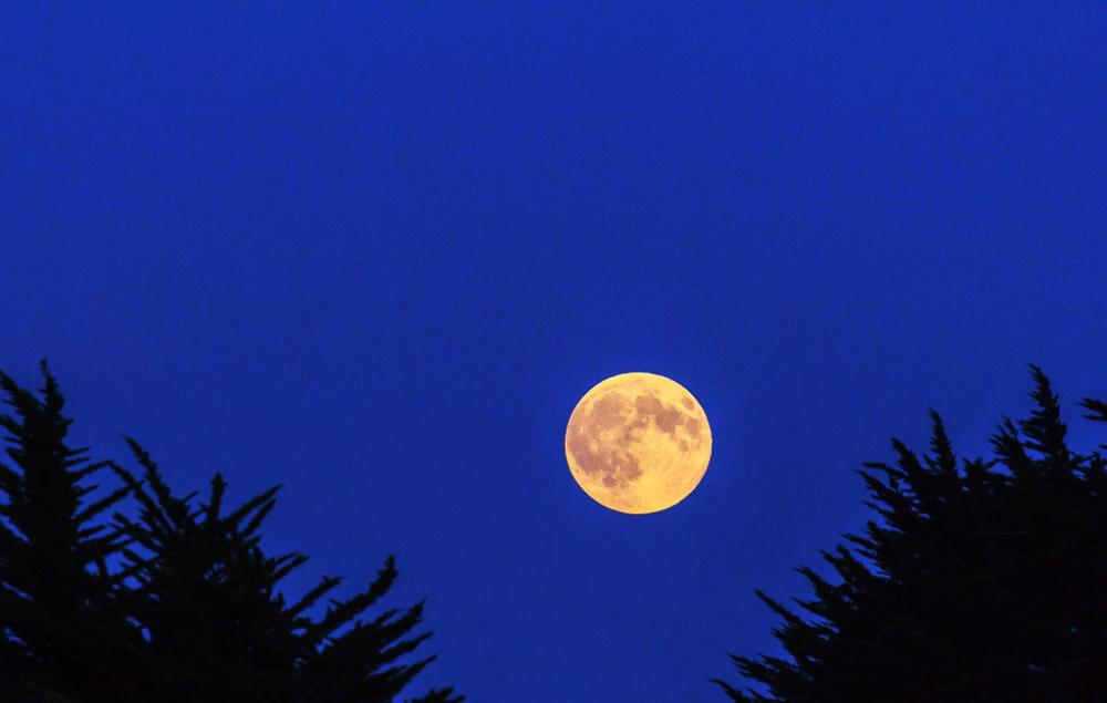 La lune n'est plus là !!