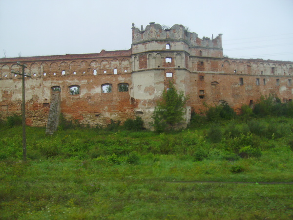 Old  castle in Stare  Selo