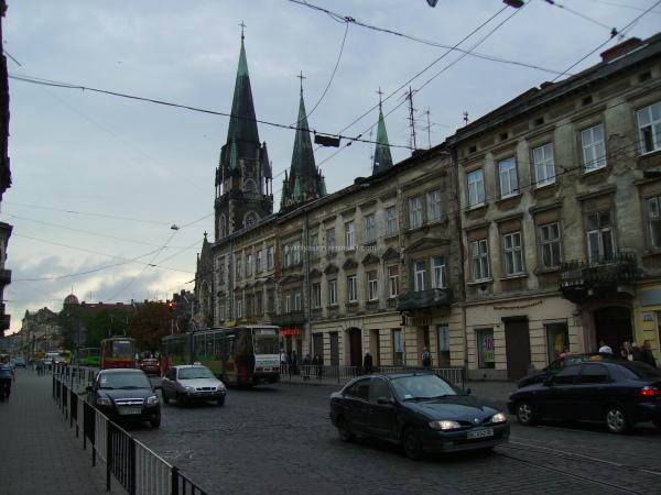 Gorodotska  Street  in Lviv