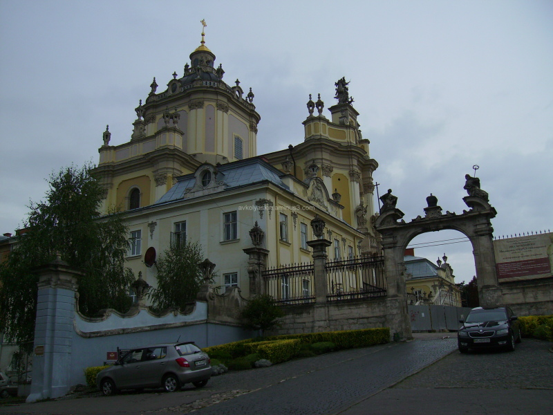 Saint  Jur  Temple  in  Lviv