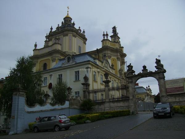 Saint  Jur  Temple  in  Lviv