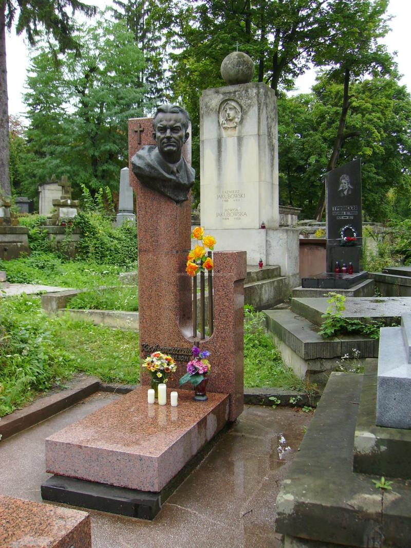 A  Tomb  of  Anatoliy  Kos - Anatolsky in  Lviv