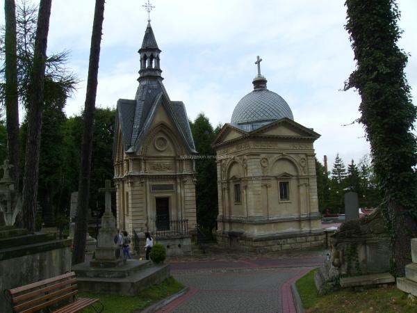 Old  chapels  in  Lviv