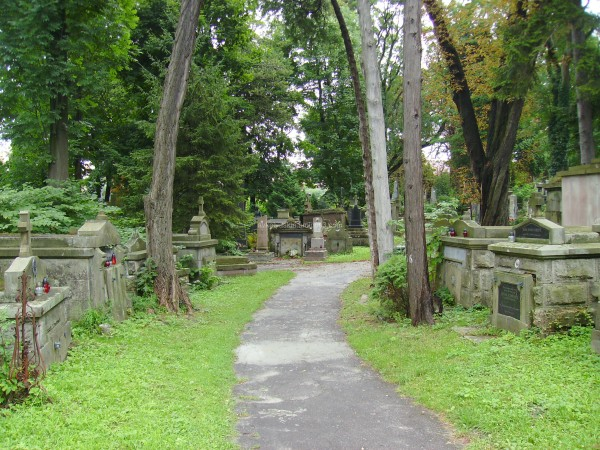 Lychakivske  cemetery  of  Lviv