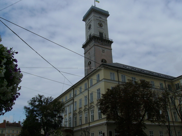 Town  hall  in  Lviv