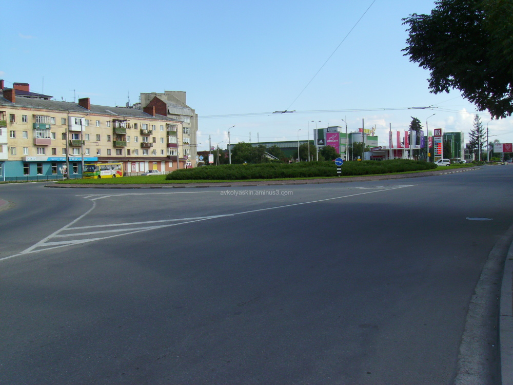 Ring  Road  in  Ivano - Frankivsk