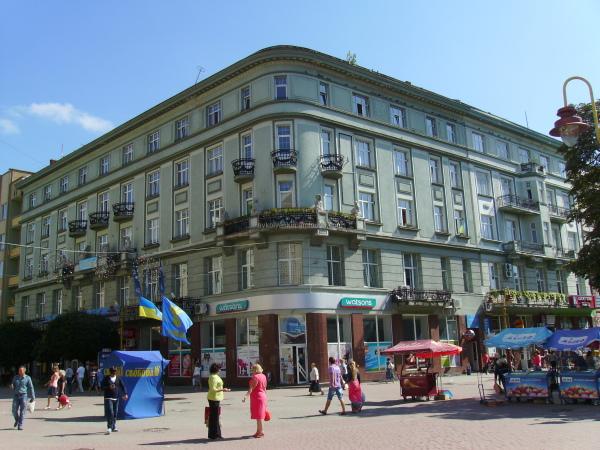 "Hotel  ""Kyiv""  in  Ivano - Frankivsk"