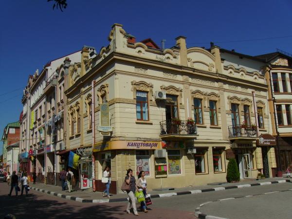 Office  building  in  Ivano - Frankivsk