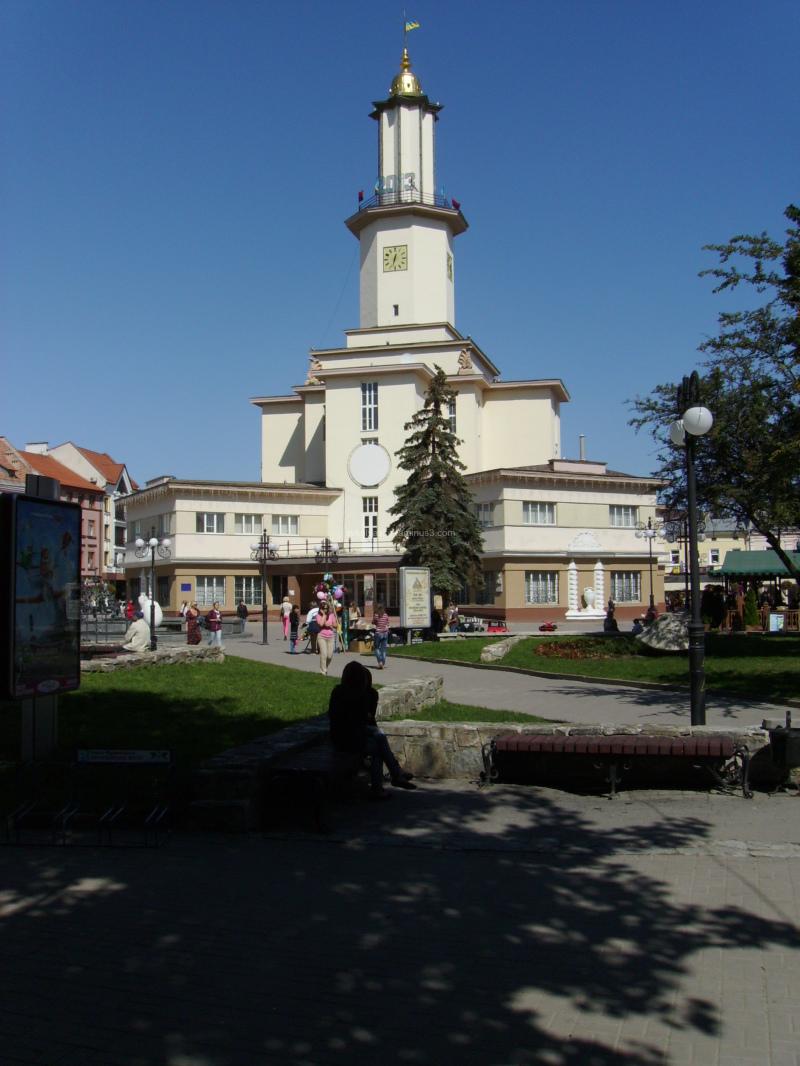 Ivano - Frankivsk  City  Hall
