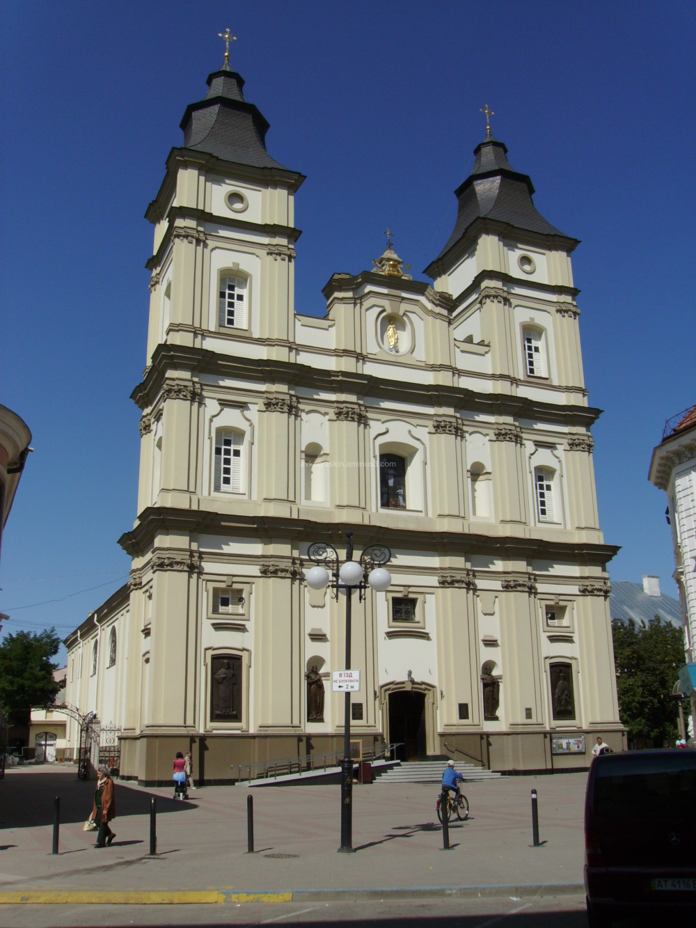 Cathedral  in  Ivano - Frankivsk