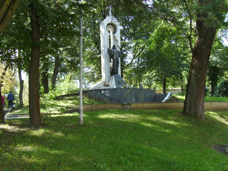 Memorial  of  Jesus  Christ  in  Ivano - Frankivsk