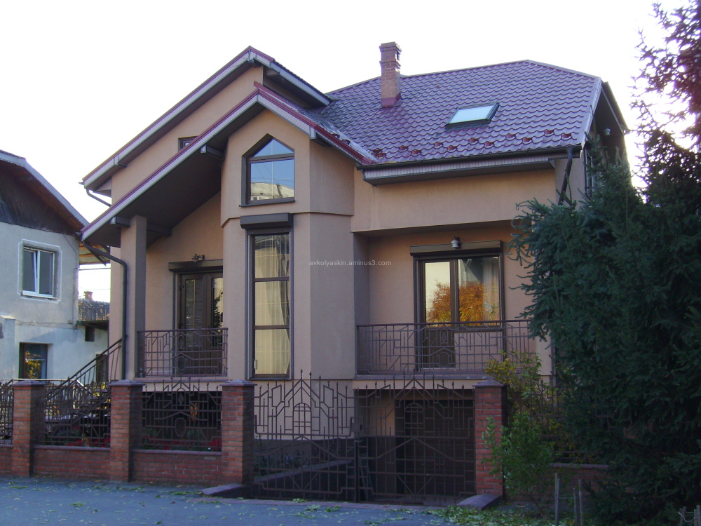 Living  house  in   Ivano - Frankivsk