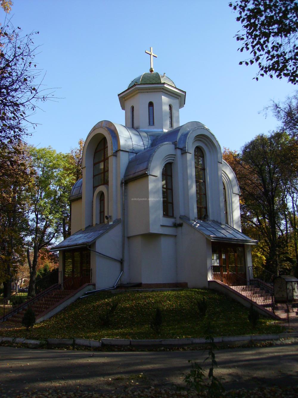 Greek - carholic   temple  in   Ivano - Frankivsk