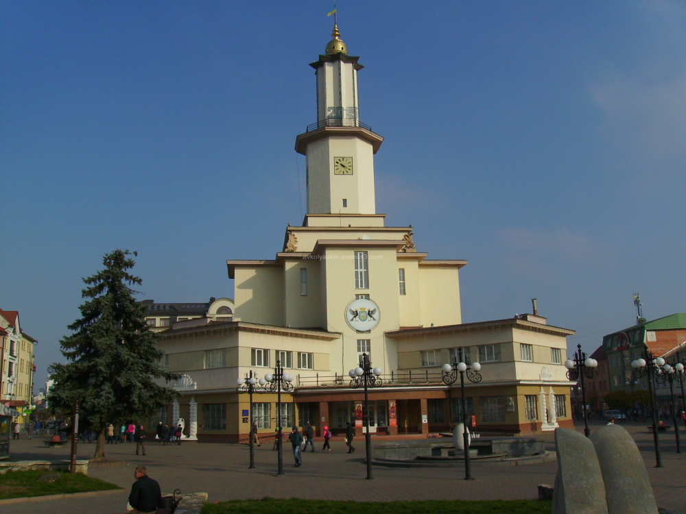 City   Hall  in   Ivano - Frankivsk
