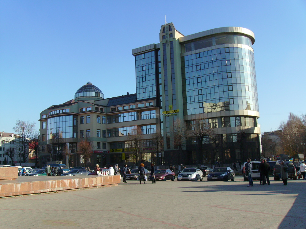 Office  house  in   Ivano - Frankivsk