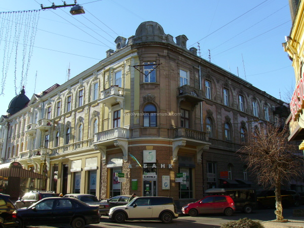 Administrative  buiding  in   Ivano - Frankivsk