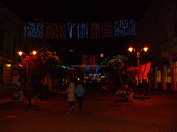 Christmas  in   Ivano - Frankivsk