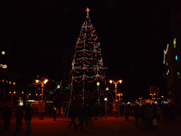 Christmas  in   Ivano - Frankivsk