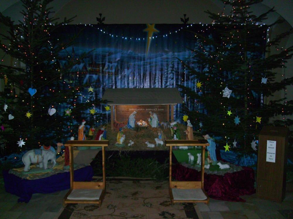 Christmas   shopka   in   Ivano - Frankivsk
