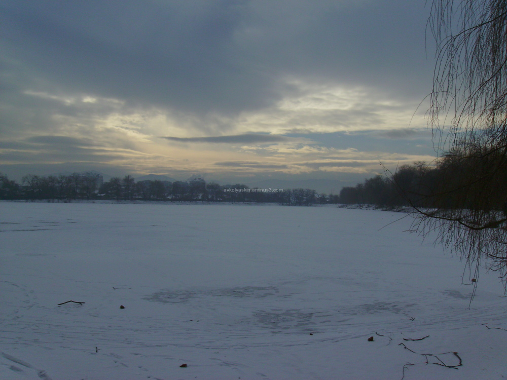 Lake  in   Nadvirna