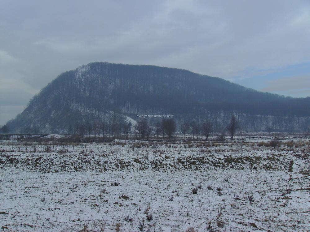 Carpatian  mountains  in   Nadvirna