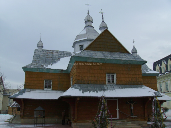 Wooden   church   in   Nadvirna