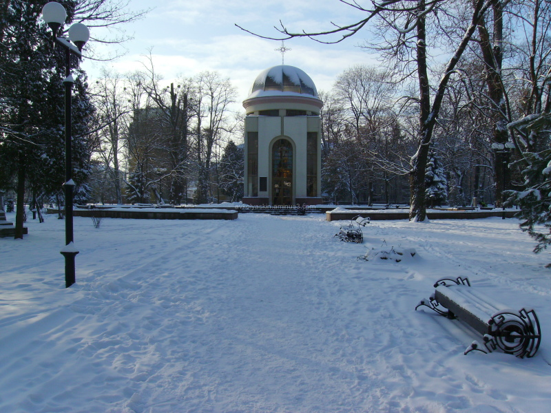 Winter  in   Ivano - Frankivsk