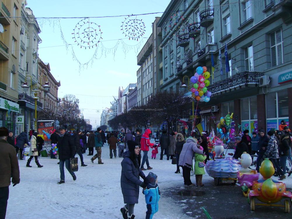 Winter  in   Ivano - Frankivsk
