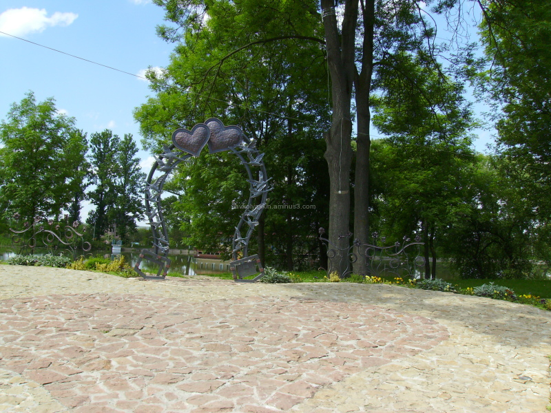 Island   of   love   in   Ivano - Frankivsk