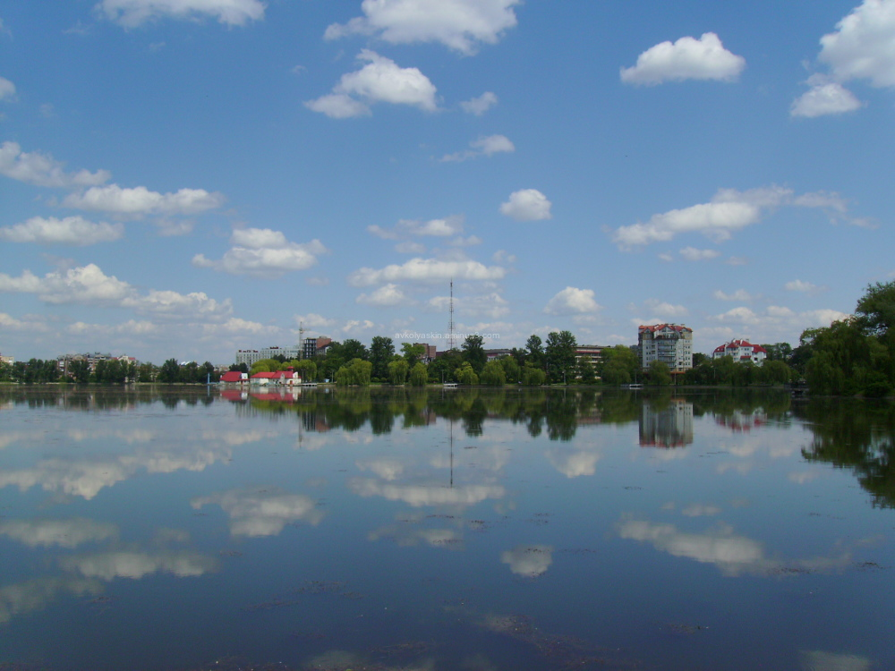 Ivano - Frankivsk   City   Lake
