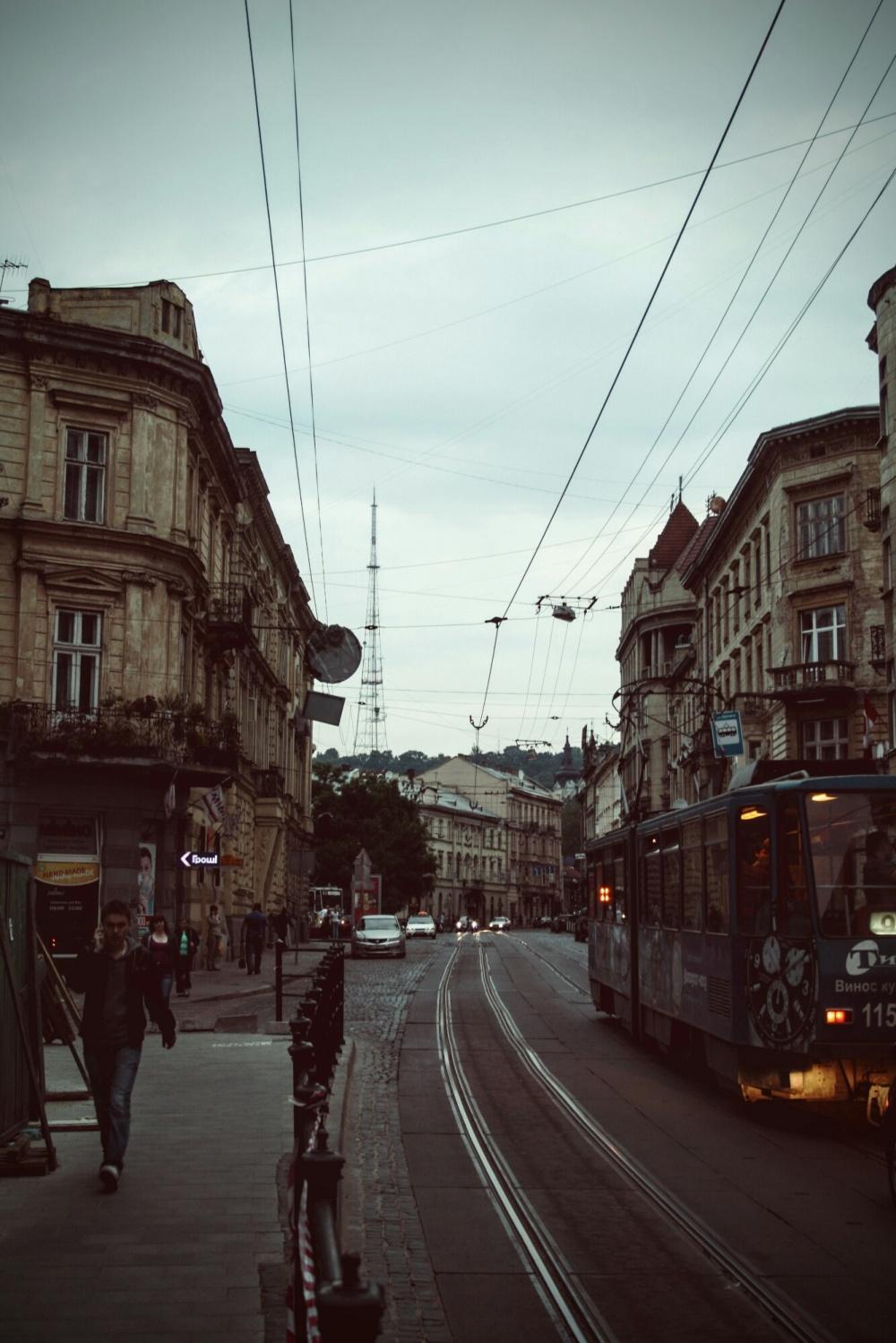 A summer evening in Lviv
