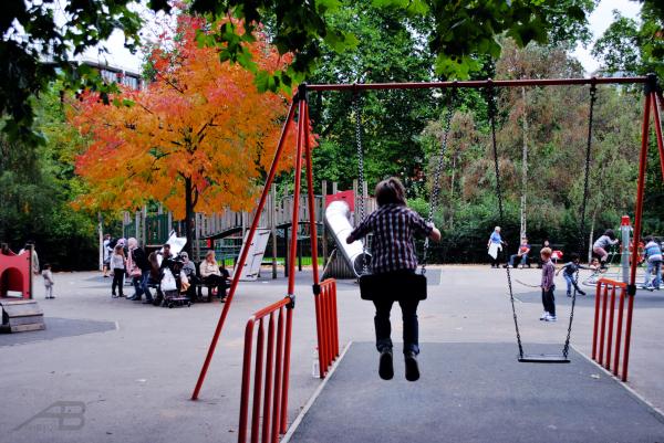 Playground, Hyde Park, London