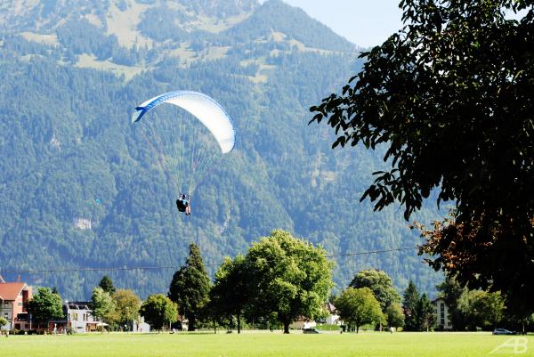 Skydiver, Interlaken, Switzerland