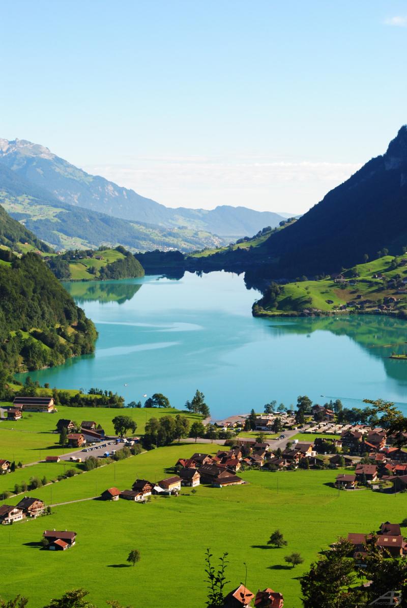 Landscape in Switzerland