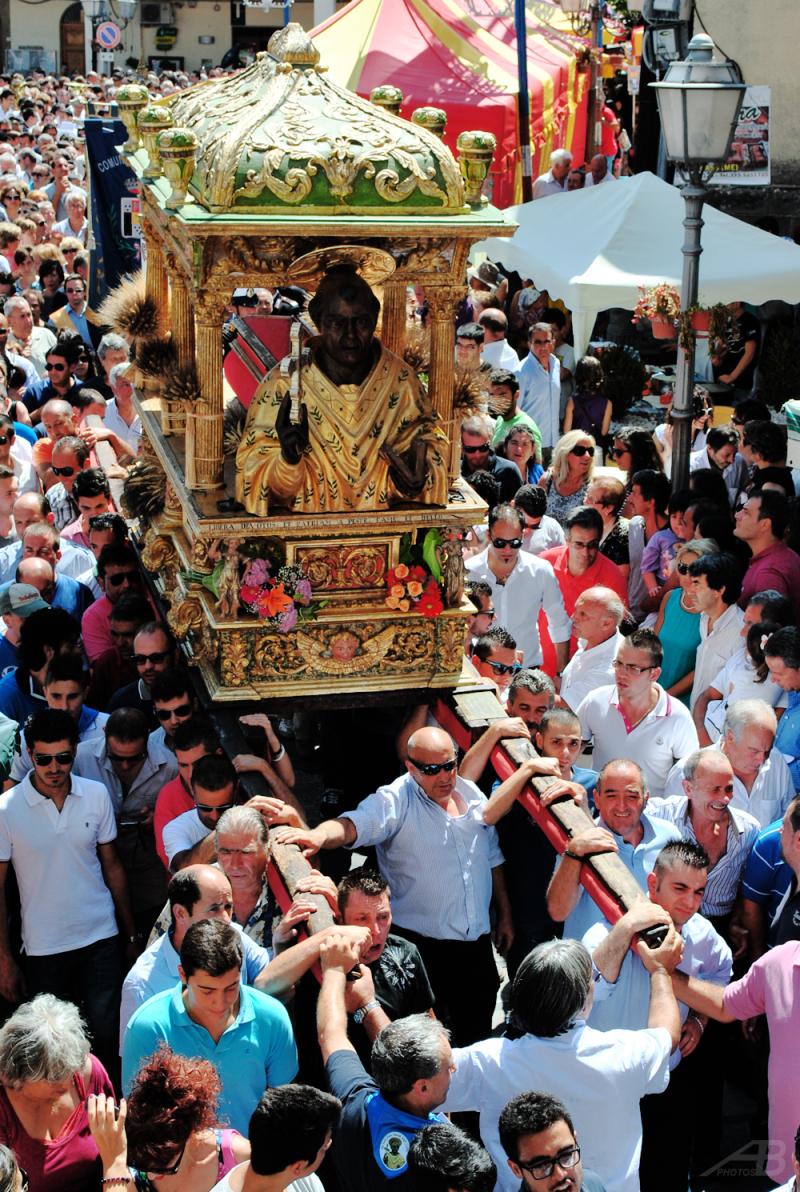 The Procession of San Cono, Naso, Italy