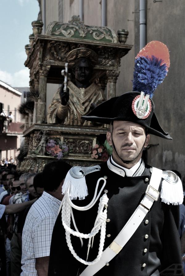 Carabiniere, Procession for San Cono, Naso, Italy