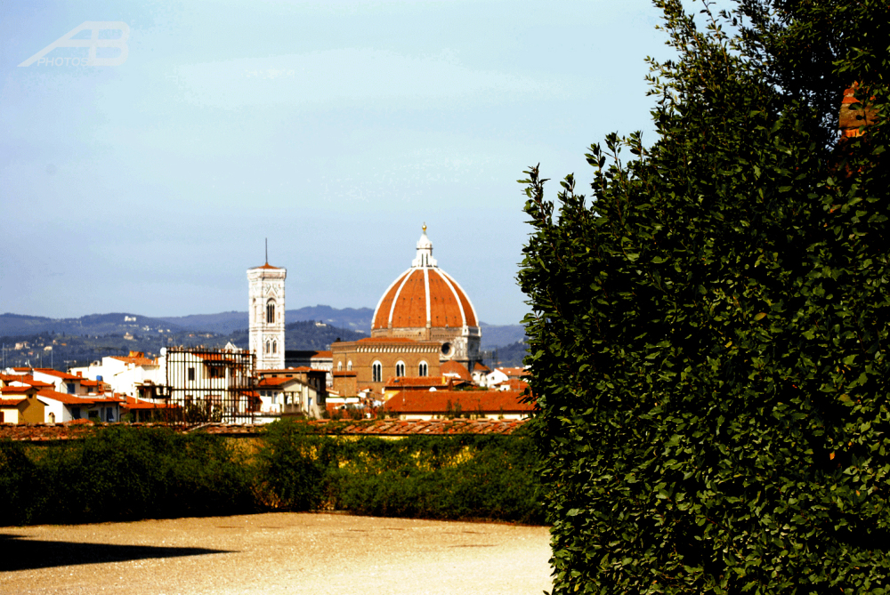 Florence seen from Boboli Gardens
