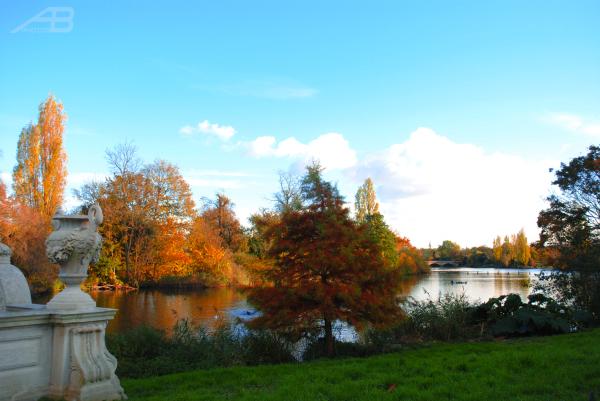 Italian Gardens, Kensington Gardens, London