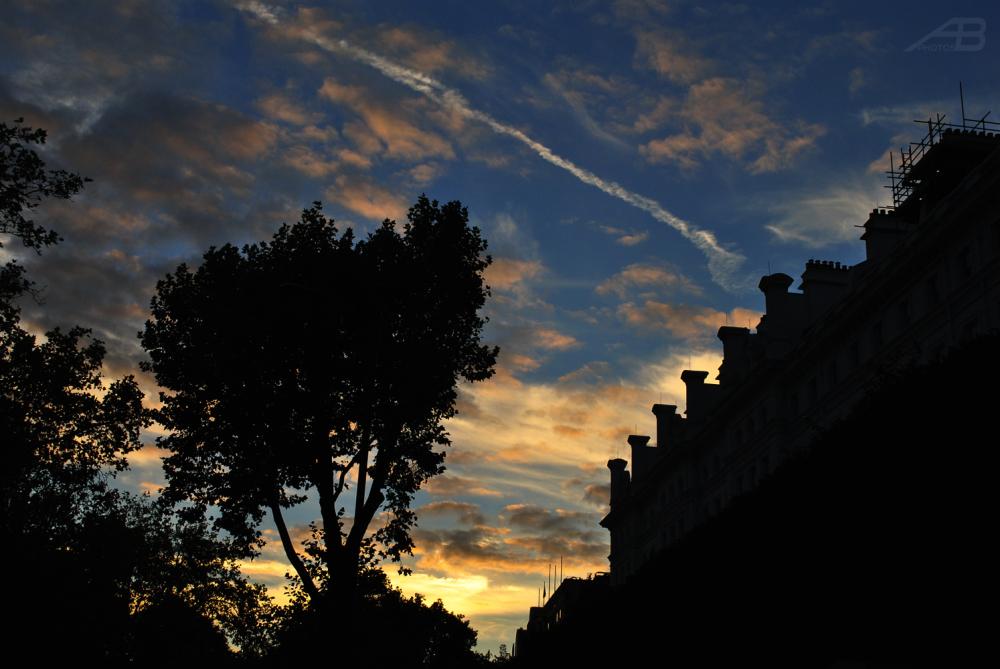Sunset, London