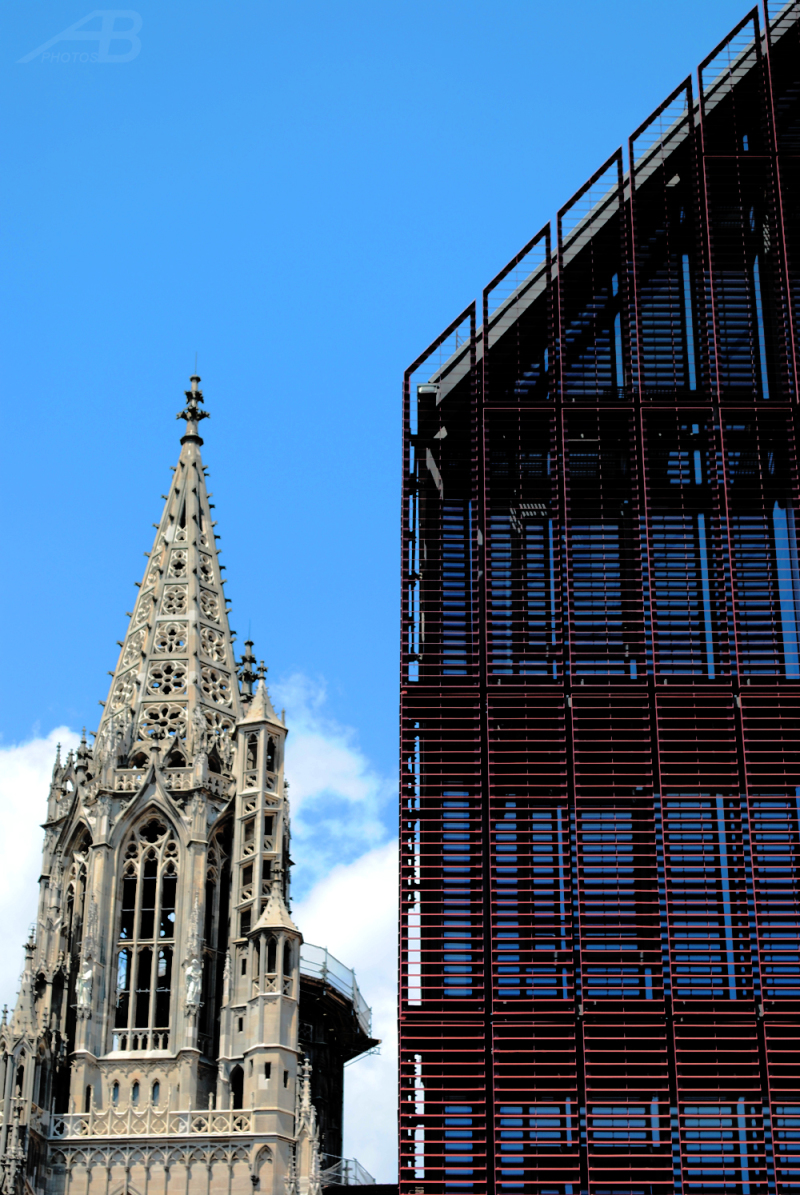 Old and new, Ulm, Germany