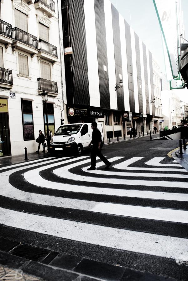 Pedestrian Crossing, Valencia