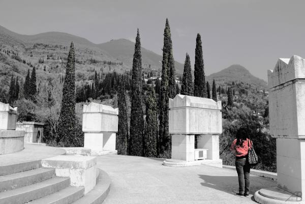 Visitor, Vittoriale degli Italiani, Italy