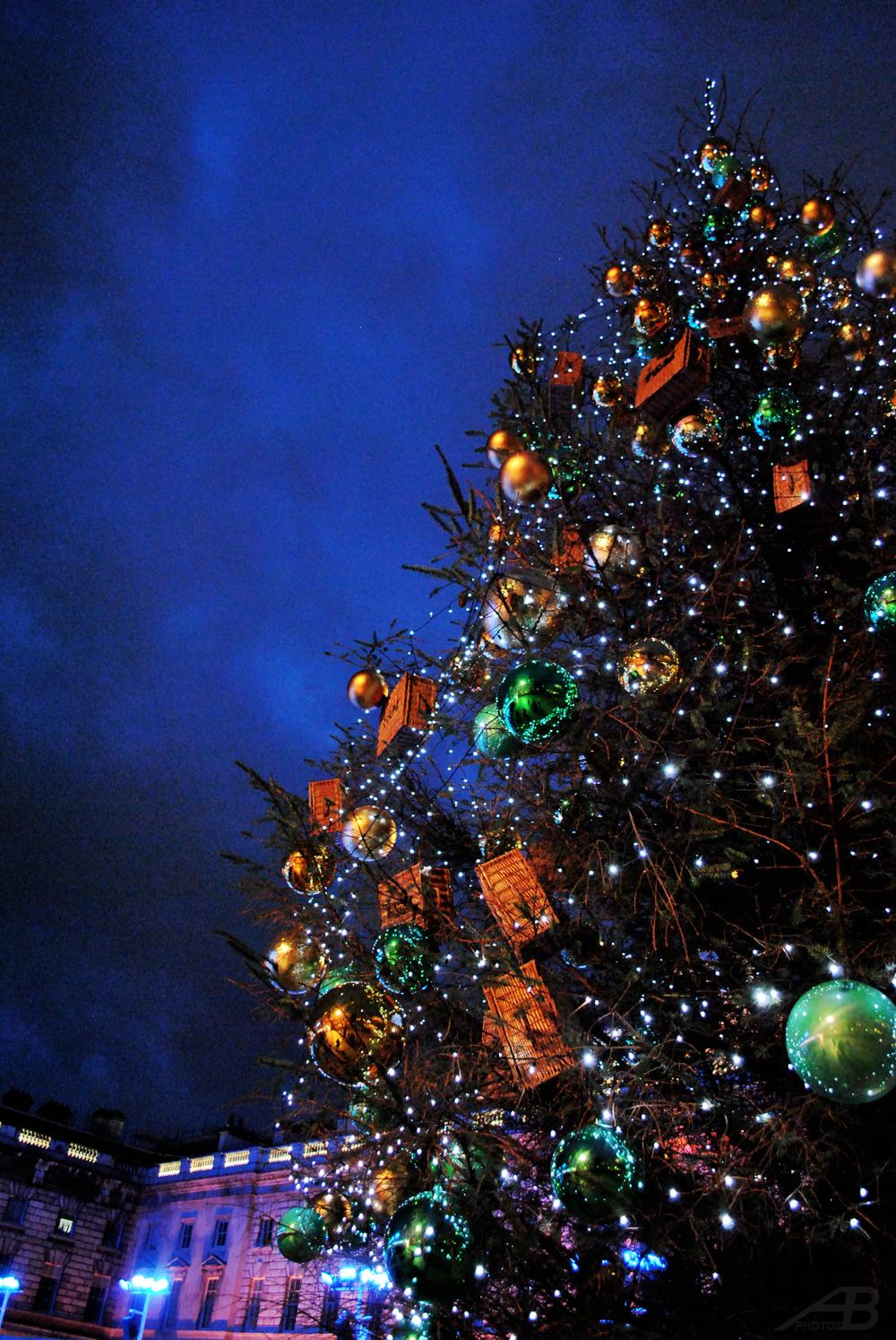 Christmas Tree, Somerset House, London