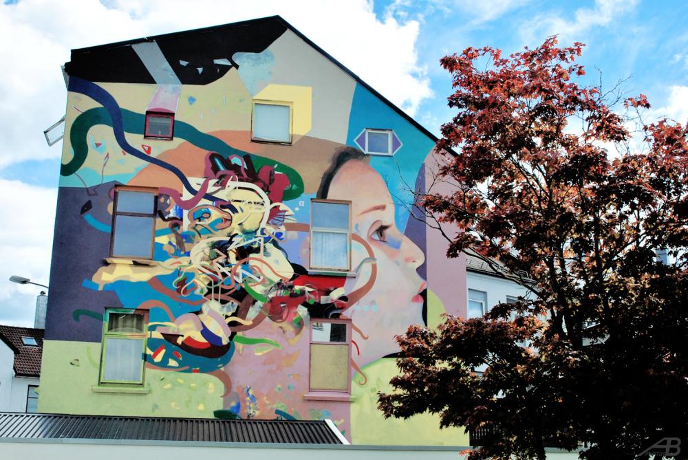 Mural in Sandefjord
