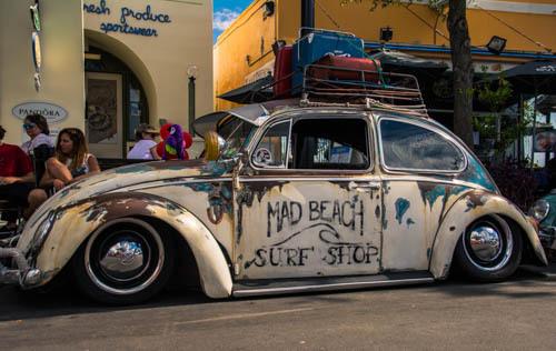 Hippie Fest Volkswagon
