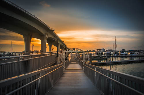 Clearwater Marina in Florida