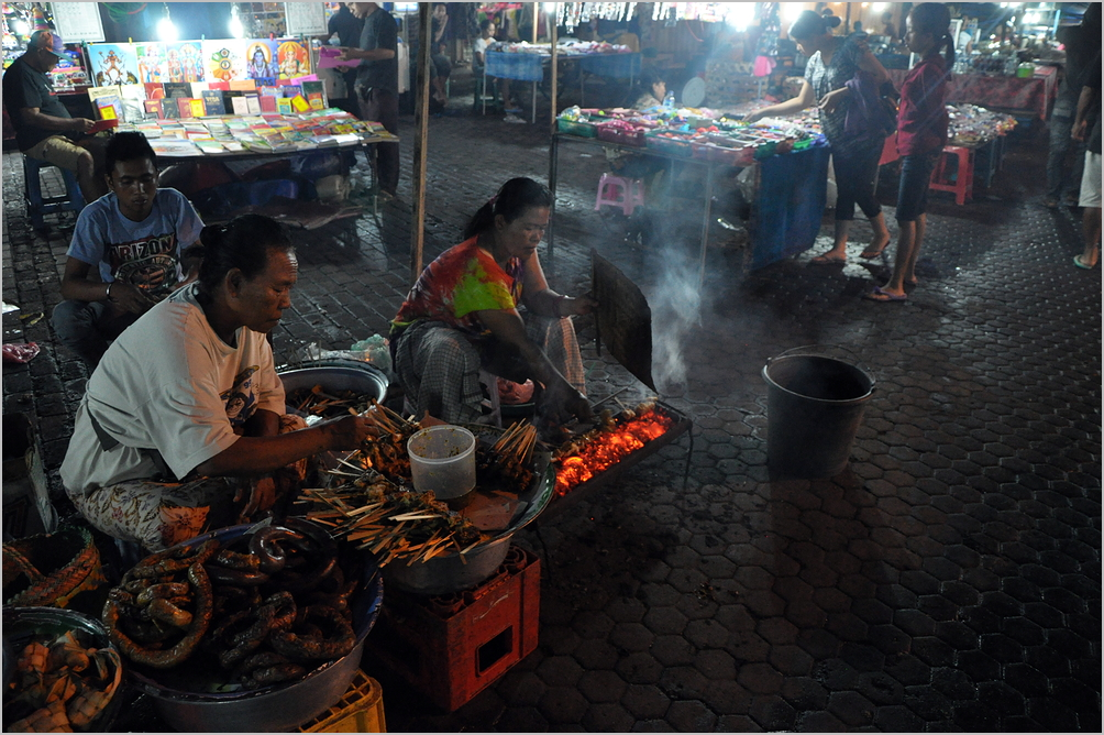 Night Market in Gyanyar