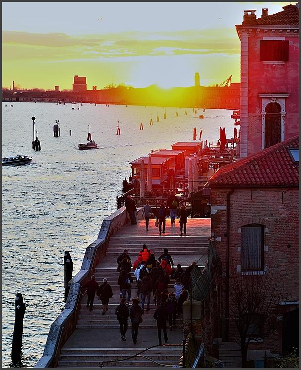 Winter, 8 am, Venezia, Italy.