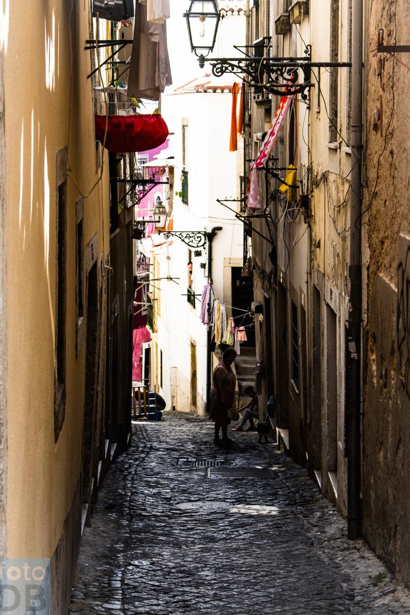 Alfama street
