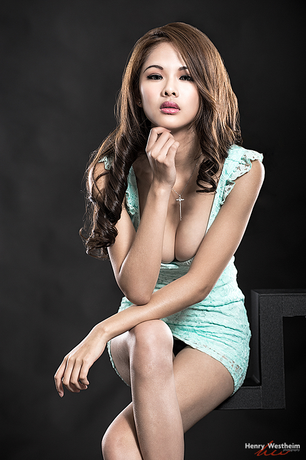 young Asian Chinese girl woman lady sexy beautiful